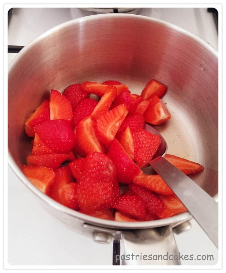 compote de fraise