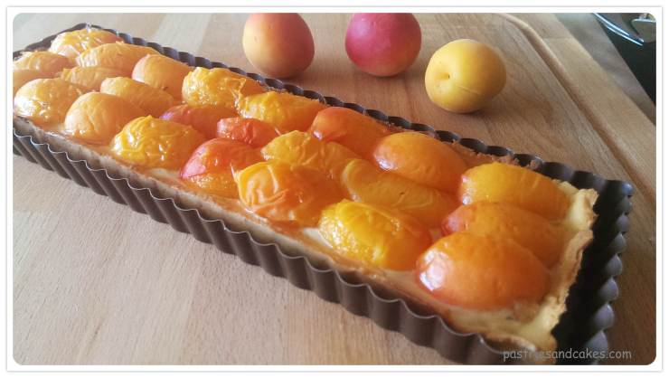 tarte abricot thym