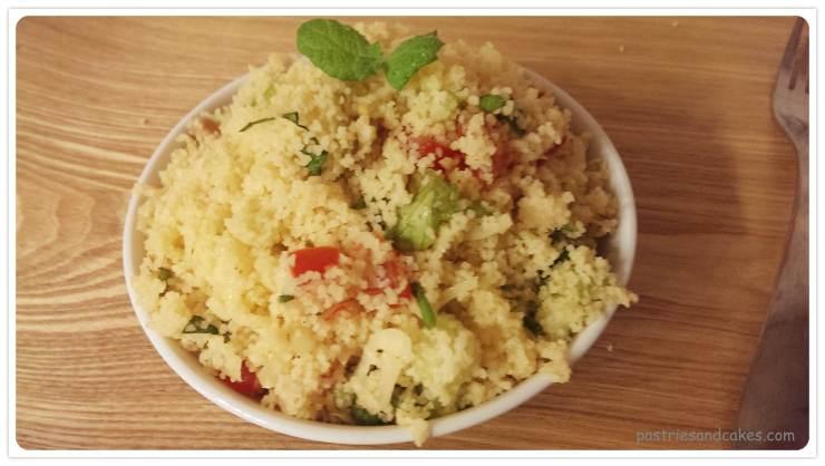 salade semoule