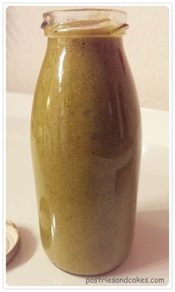 green smoothie figue pêche